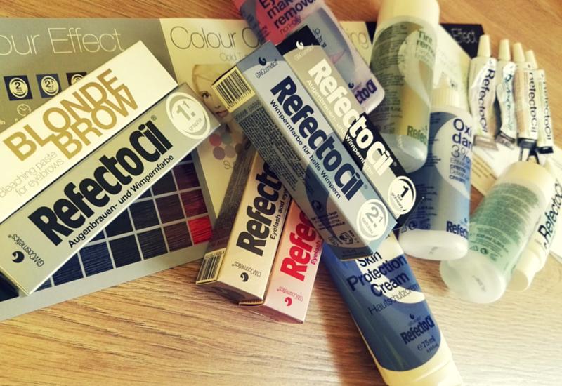 Barvení obočí Refectocil