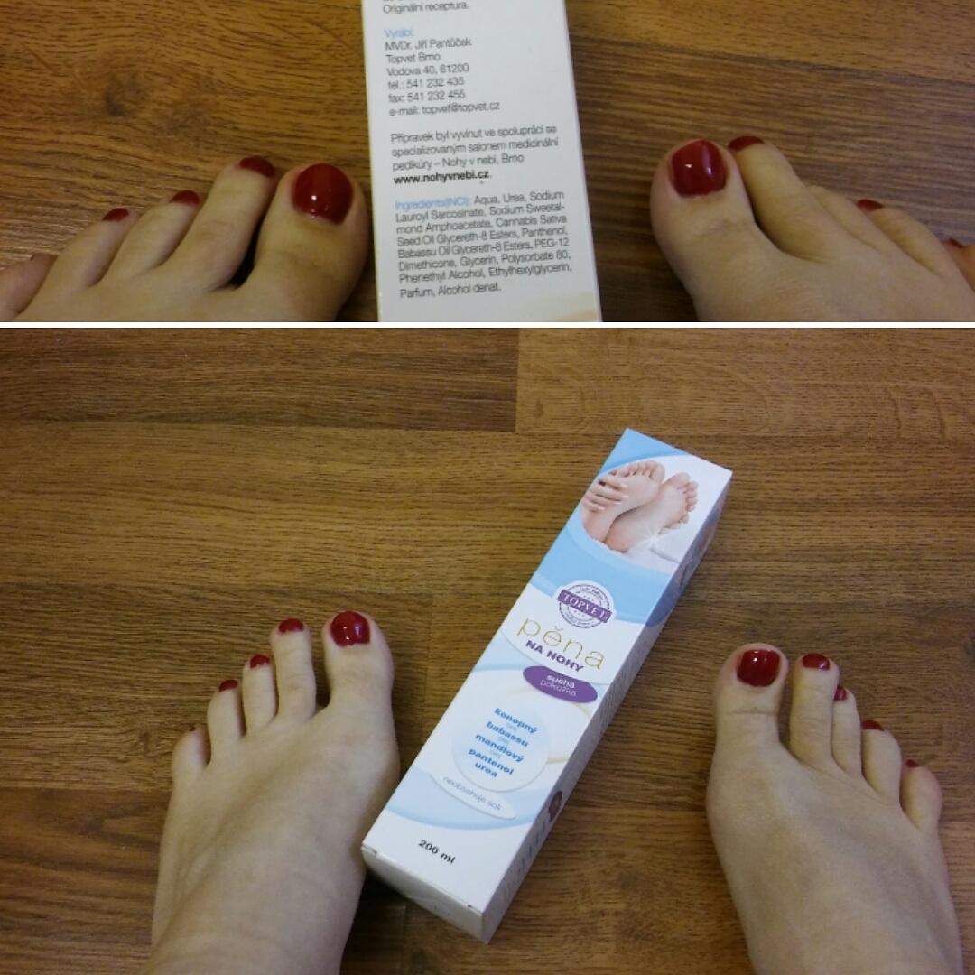 Suchá pedikúra (Nohy v nebi)