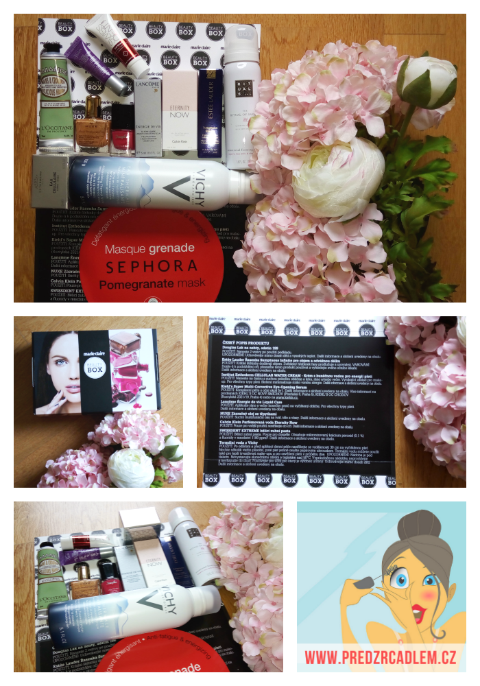 Marie Claire a letní beauty box